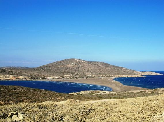 'Looking back from Prasonisi - Southern Tip of Rhodes' - Ρόδος