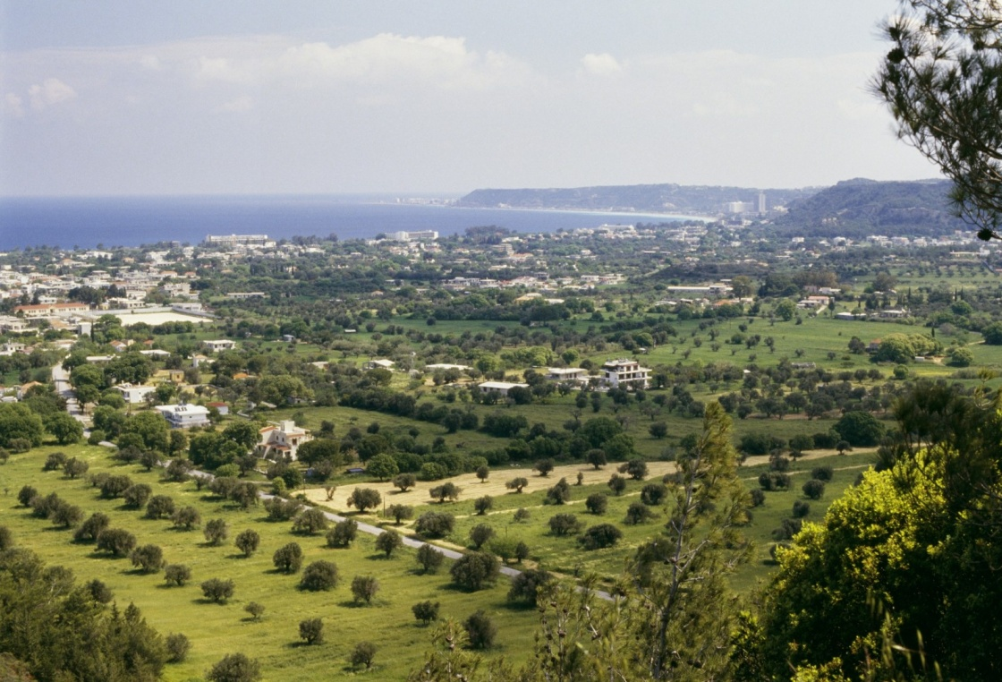 'View of Trianta, Filerimos, Rhodes, Greece' - Ρόδος