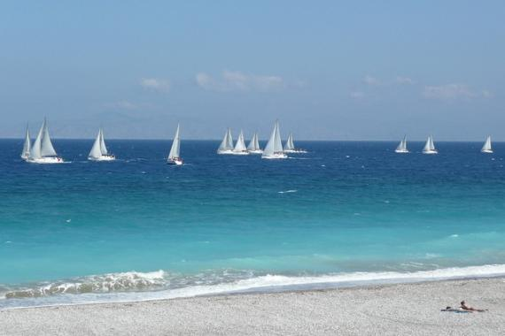 'Global MBA Trophy Yacht Race, off Ixia Beach - Rhodes, 30 April 2011' - Ρόδος